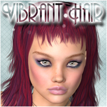 Vibrant Tama Hair Hair Software P3Design