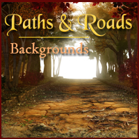 Paths and Roads 3D Models 2D -Melkor-