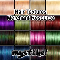 Hair Textures MERCHANT RESOURCE 2D Graphics mystikel
