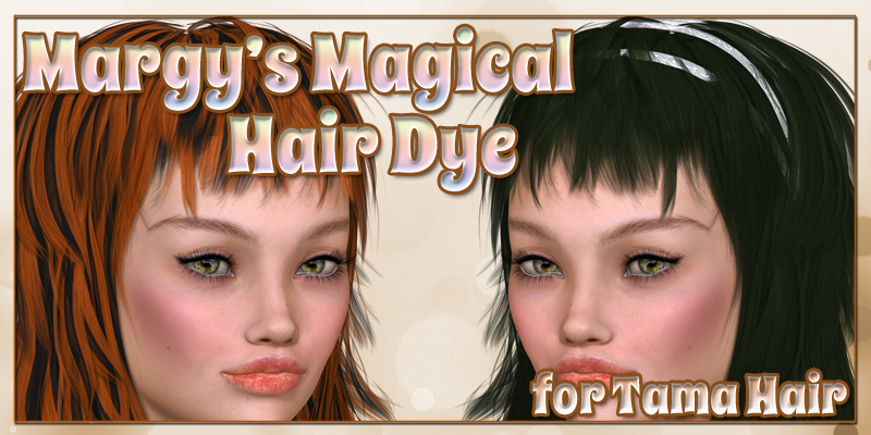 Margy's Magical Hair Dye for Tama Hair