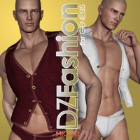 DZ Denim for Genesis 3D Figure Essentials dzheng