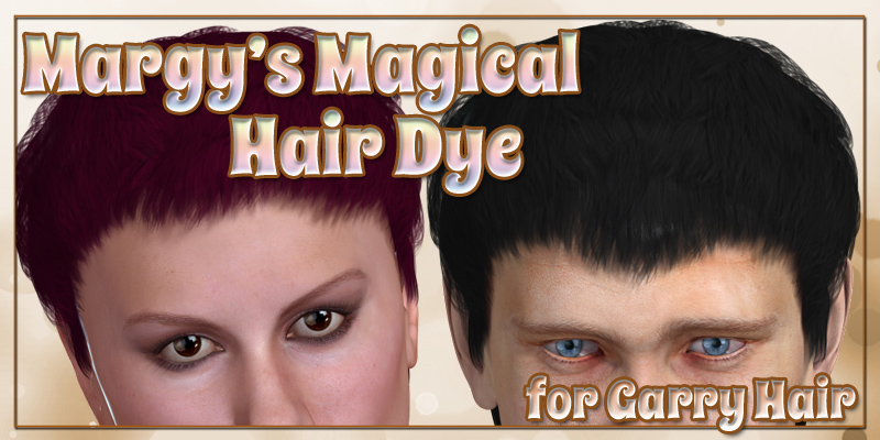 Margy's Magical Hair Dye for Garry Hair