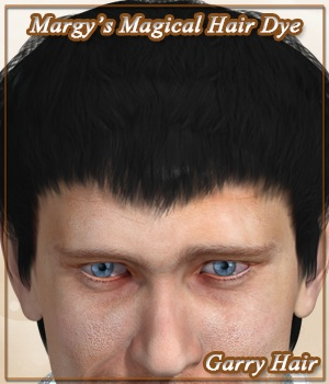 Margy's Magical Hair Dye for Garry Hair 3D Figure Assets MargyThunderstorm