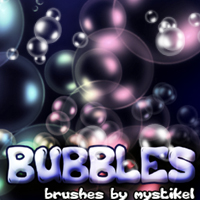 Bubbles 3D Models 2D Graphics mystikel