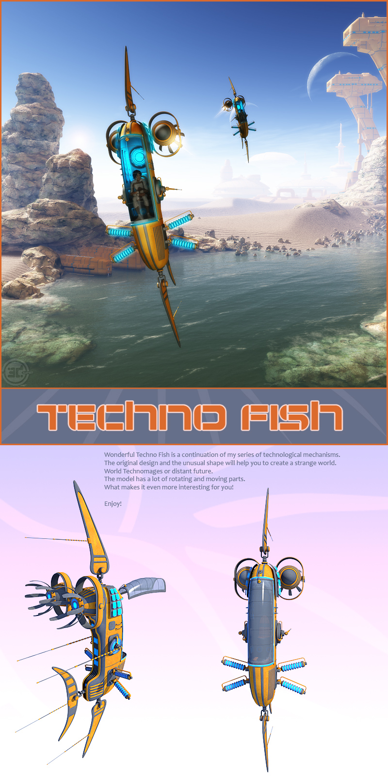Techno Fish by 1971s