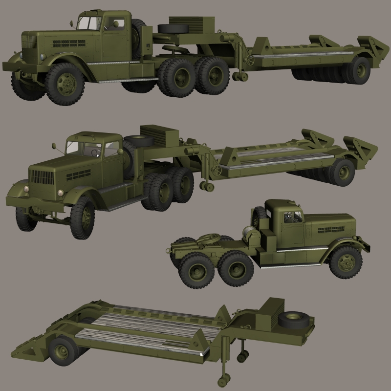 REO 28XS-FEDERAL 604 TANK CARRIER ( for Poser )