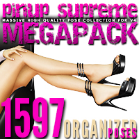 i13LL PIN UP SUPREME MEGAPACK Software Poses/Expressions ironman13