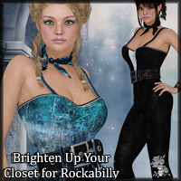 Brighten Up Your Closet Rockabilly  Blazerwiccan