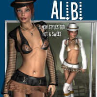 Alibi 3D Figure Essentials 3D Models JudibugDesigns