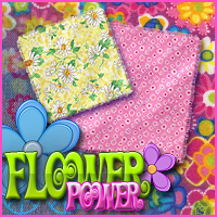Merchant Resource: Flower Power 2D Graphics Merchant Resources Sveva