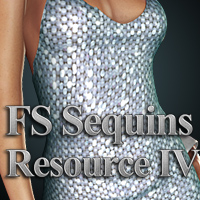 FS Sequins Resource IV 3D Models 2D FrozenStar