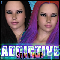 Addictive Sonia Themed Hair OziChick