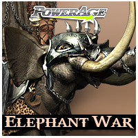 Elephant War 3D Models powerage
