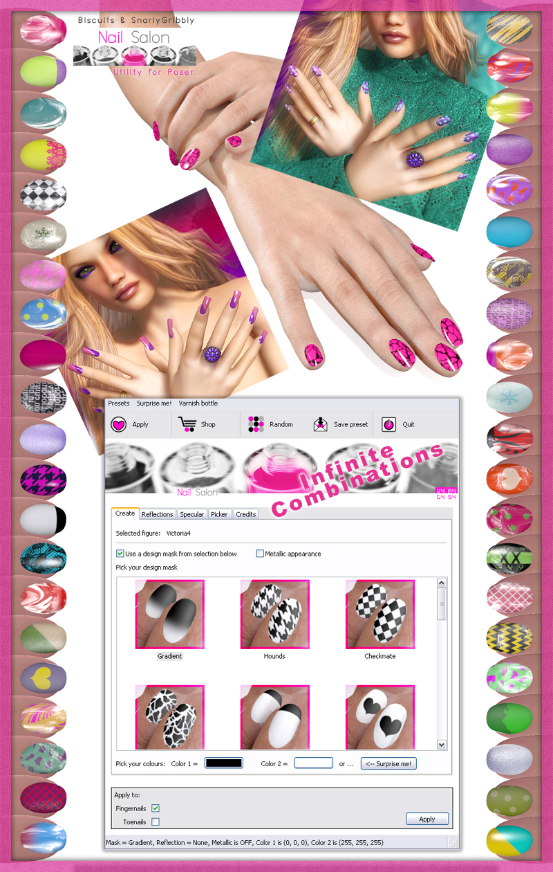 Nail Salon for Poser