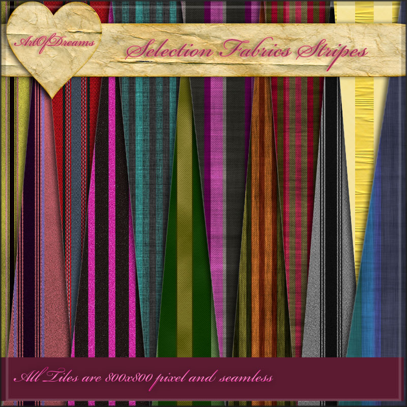 Selection- Fabrics Stripes