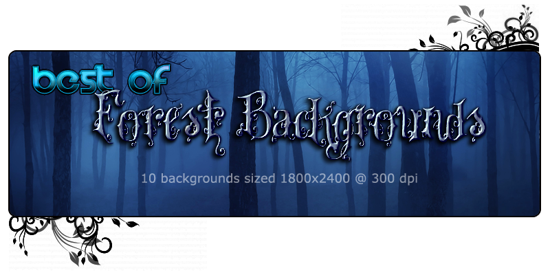 FS Best of Forest Backgrounds by FrozenStar
