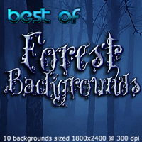 FS Best of Forest Backgrounds 2D 3D Models FrozenStar