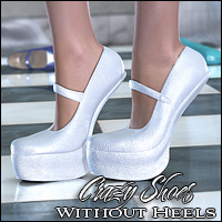 Crazy Shoes - Without Heels 3D Figure Essentials Valea