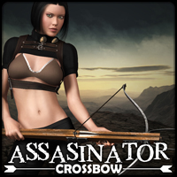 Assasinator - Crossbow 3D Figure Essentials 3D Models mytilus