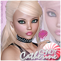 Candy Catherine Themed Hair Sveva