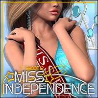 SHOOT 12: Miss Independence 3D Models 3D Figure Assets ShanasSoulmate