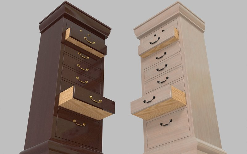Furniture Set One, Lingerie Chest