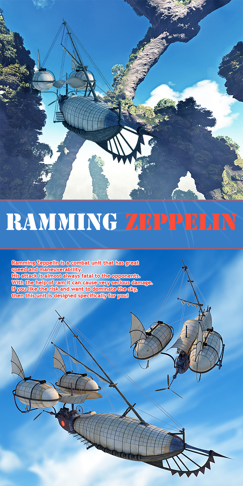 Ramming Zeppelin