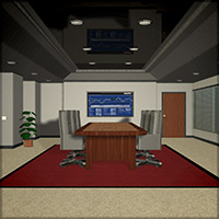 Conference Room Set 3D Models Richabri