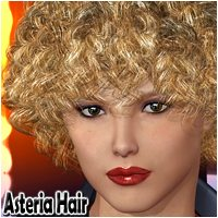 Asteria Hair 3D Figure Assets Mairy