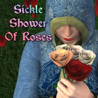 Sickle Shower Of Roses DAZ Poser 3D Models SickleYield