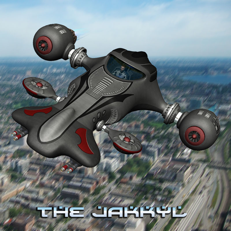 Jakkyl Fighter Craft
