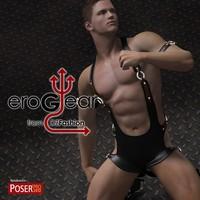 DZ EroGear Set 2 for M4H4Guy4 3D Figure Assets dzheng
