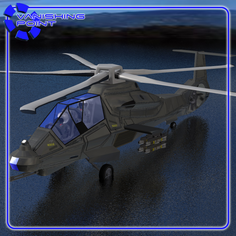 Comanche RAH-66 Helicopter (Poser)/ Vue