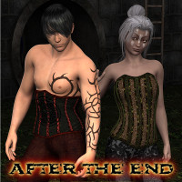SF After the End for Dead World Corsets  fuseling