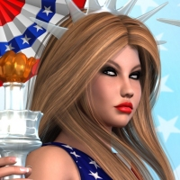 SHOOT 12: Miss Independence - 4th of July AddOn 2 image 1