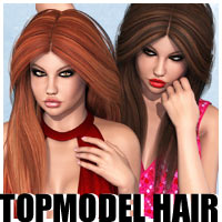 Topmodel Hair 3D Figure Essentials outoftouch