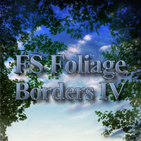 FS Foliage Borders IV 2D And/Or Merchant Resources Themed FrozenStar