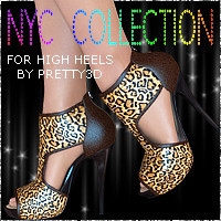 NYC for High Heels 3D Figure Essentials 3DSublimeProductions