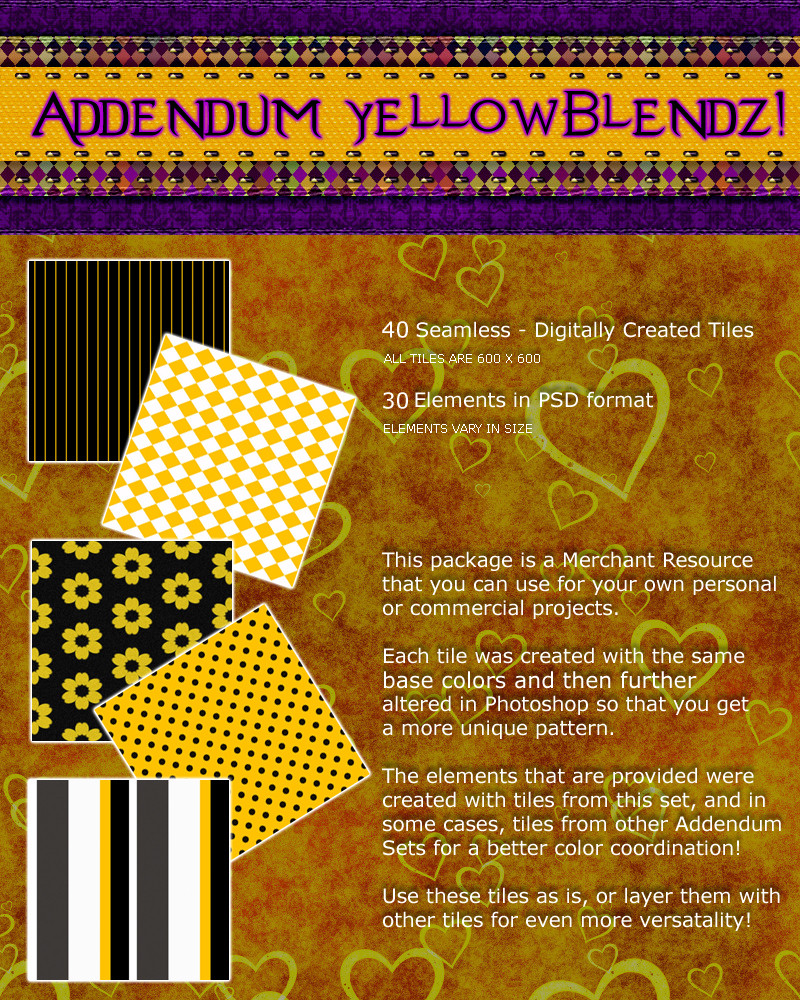 Addendum YellowBlendz!