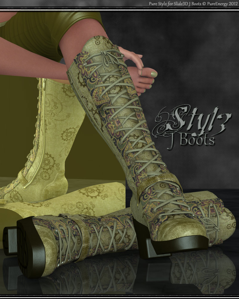 Pure Stylz J Boots