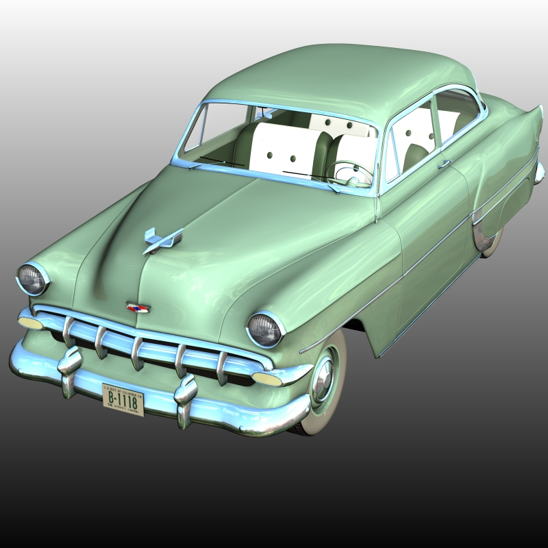Chevrolet 1954 2 Door ( for Poser )