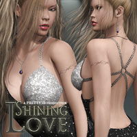 Shining Love 3D Figure Assets 3D Models Pretty3D
