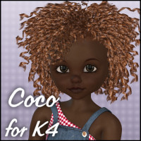 Coco for K4 3D Figure Essentials 3D Models JudibugDesigns