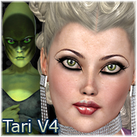 Tari for V4  Themed Characters posermagic