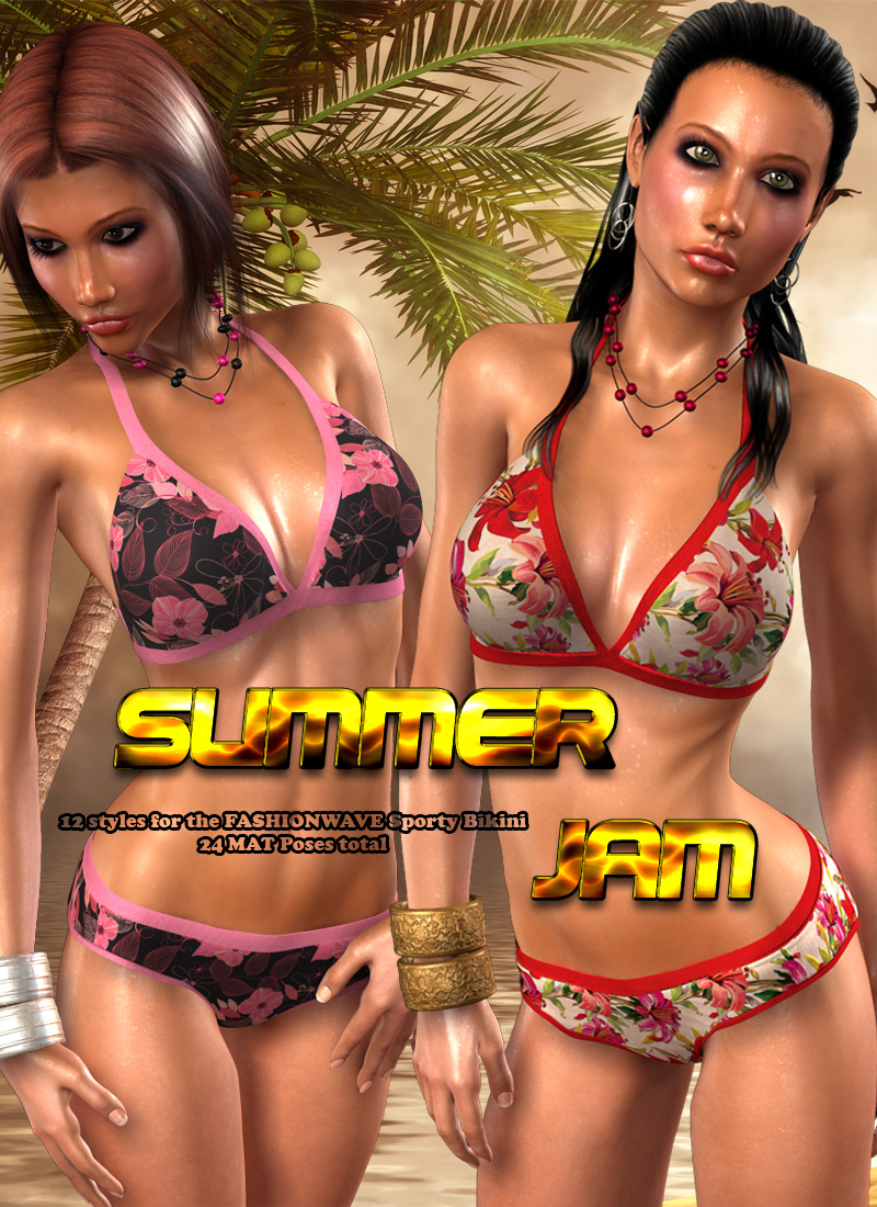 Summer Jam for Sporty Bikini