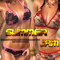Summer Jam for Sporty Bikini 3D Models 3D Figure Essentials FrozenStar
