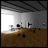 Photography Studio Props/Scenes/Architecture 2nd_World