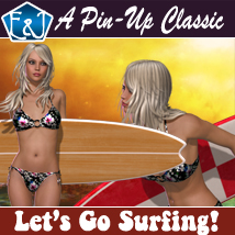 Let's Go Surfing Poses/Expressions Software Themed Props/Scenes/Architecture EmmaAndJordi