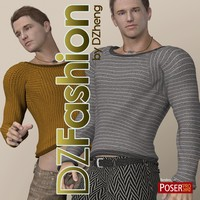 DZ Fashion Set 7 for M4H4Guy4 3D Figure Assets dzheng