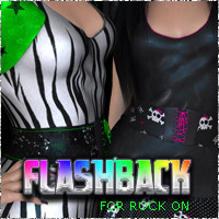 !FlashBack for Rock On 3D Figure Assets 3DSublimeProductions